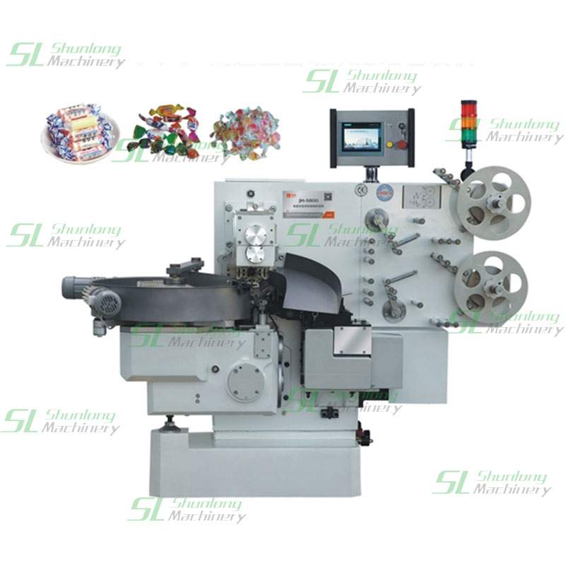 Double-twist Candy Auto Wrapping Machine-Products-Ruian